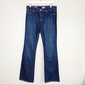 Lilly Pulitzer Main Line Fit Dark Wash Jeans 10
